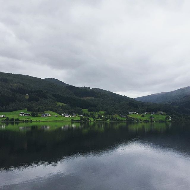 Roadsides scenes in Norway
