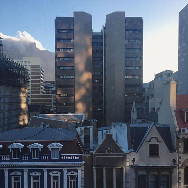 More scenes from my (dirty) window #capetownlife