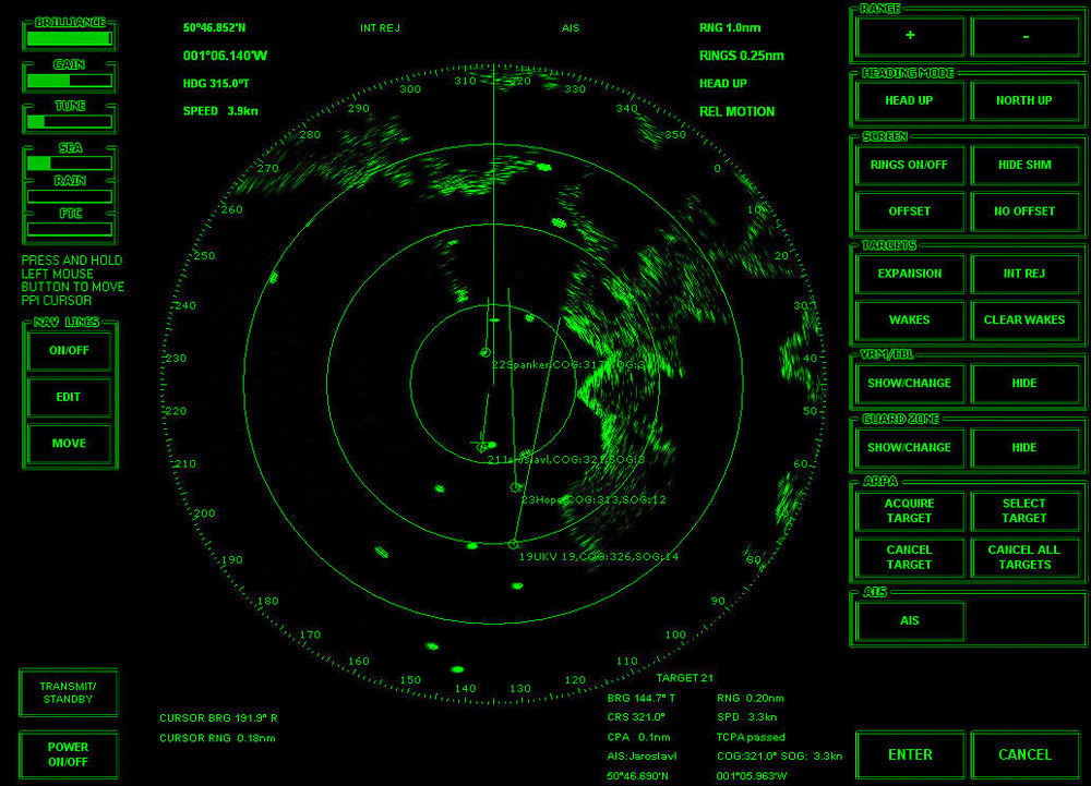 Captain - I spotted a few echoes on the radar