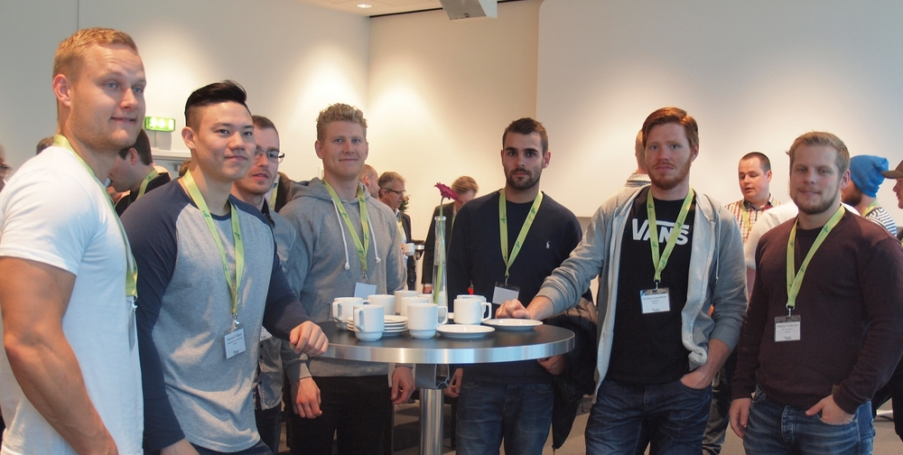 Strong young men from MARTEC. Thanks to The Danish Maritime Fund for sponsoring students at MBO 2016