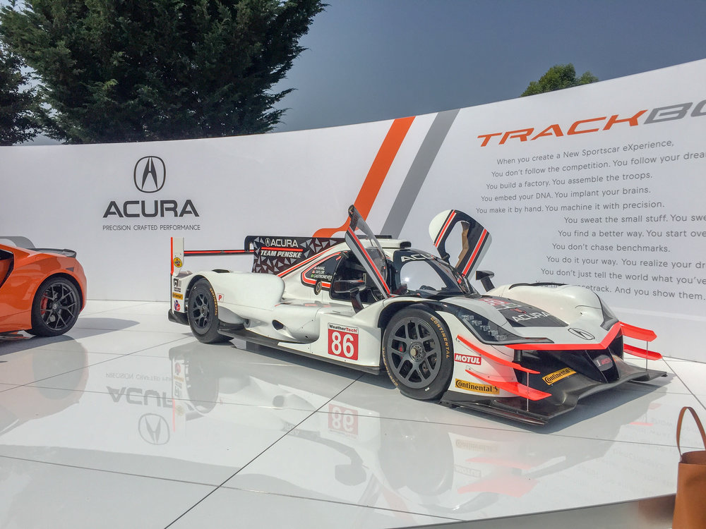 Quail, Detailed View of ARX-05, Acura Monterey Car Week 2018