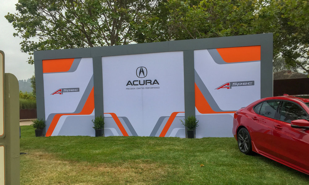 Ride and Drive, Acura Monterey Car Week 2018
