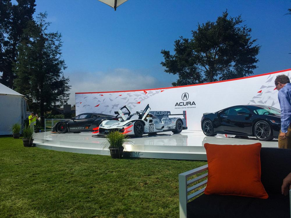 Quail, Acura Monterey Car Week 2017