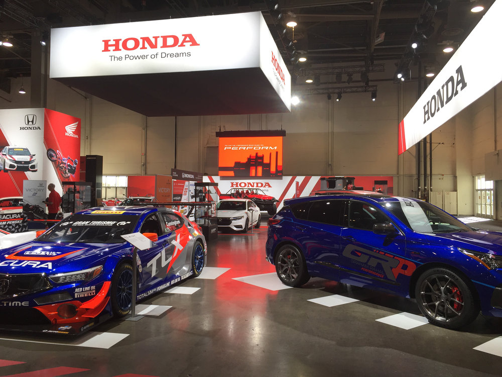 Front view, Honda+Acura & GPJ, 2018