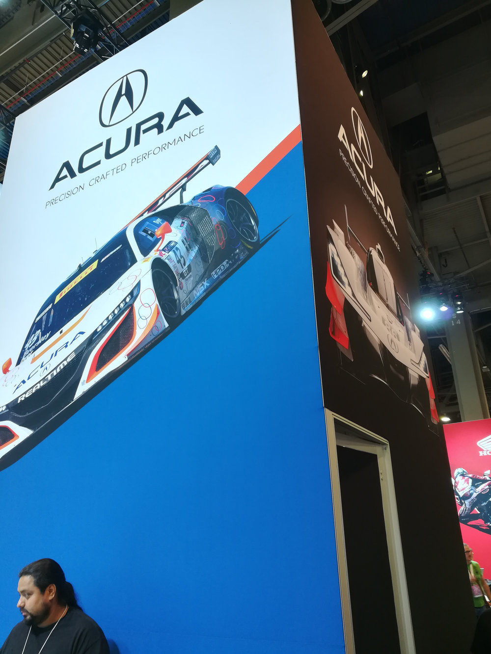 Acura Motorcycle Column Cover, Honda+Acura & GPJ, 2017