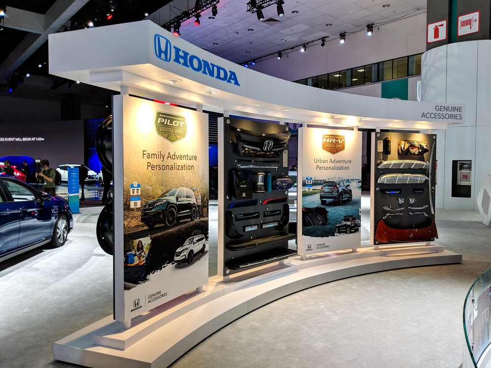 Adventure Accessory Panels, LAIAS 2018, Honda + GPJ, 2018