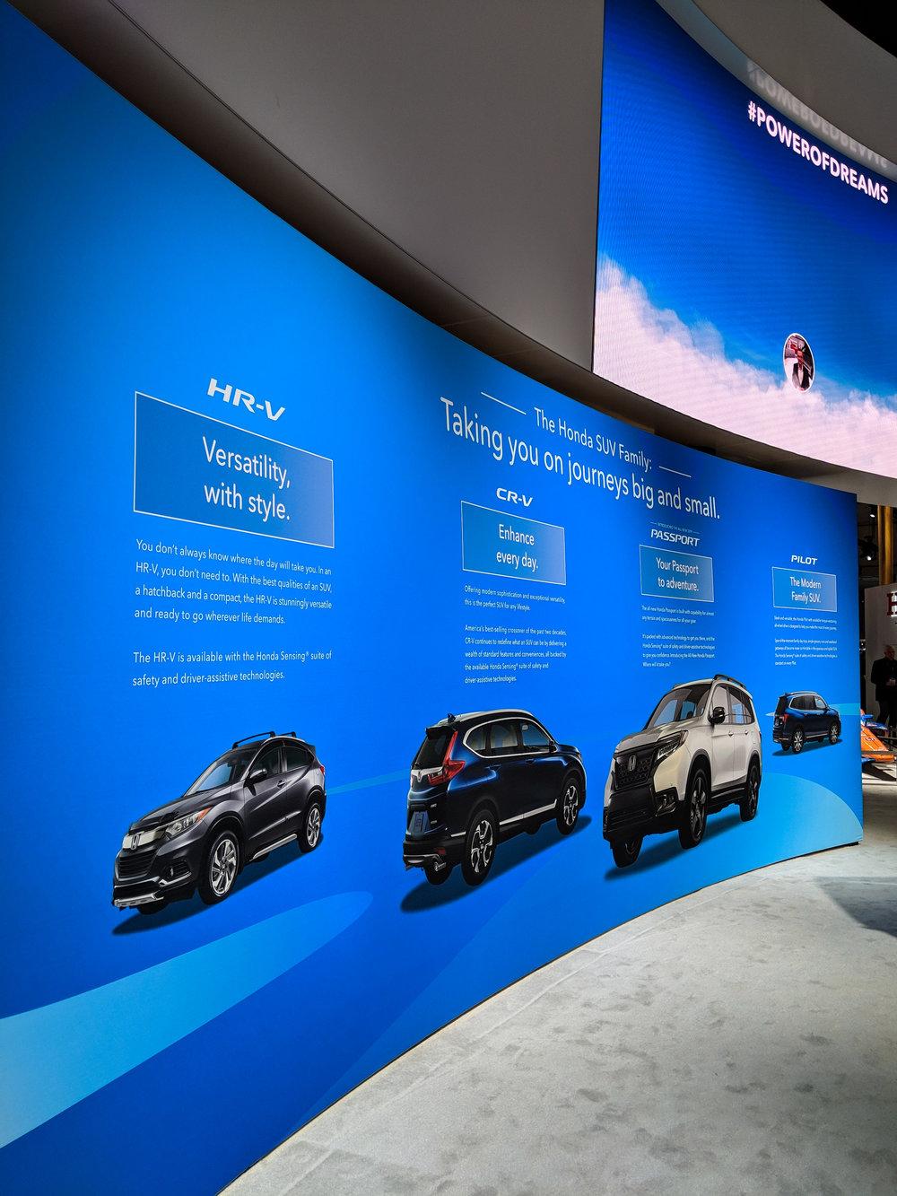 SUV Story Panel, LAIAS 2018, Honda + GPJ, 2018