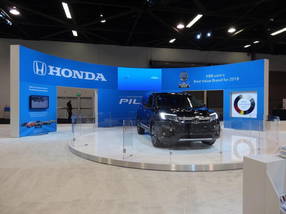 Front View, Orange County Show 2018, Honda + GPJ, 2018