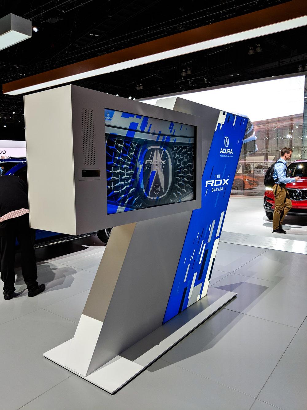 Interactive Pylon (RDX Side), LAIAS 2018, Acura + GPJ, 2018