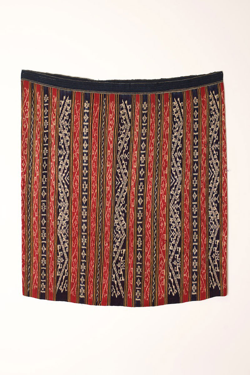 Tai silk and cotton skirt, northern Laos, late 19th century.