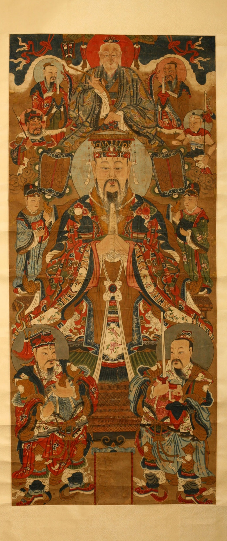 Taoist painting, China, 19th century.