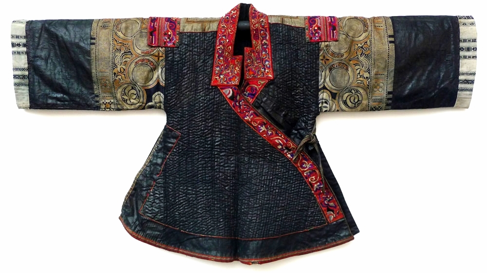 Dandu Miao woman's jacket, Guizhou, China, early 20th century.