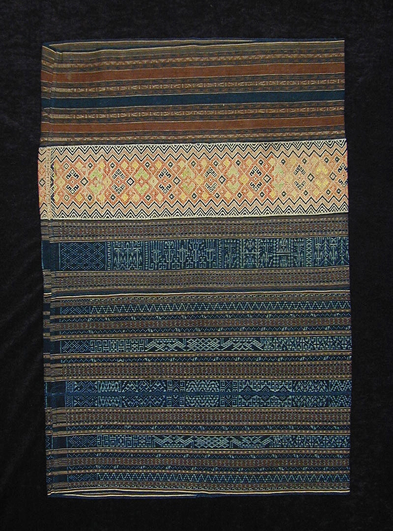 Meifu Li skirt, Hainan, China, early 20th century.