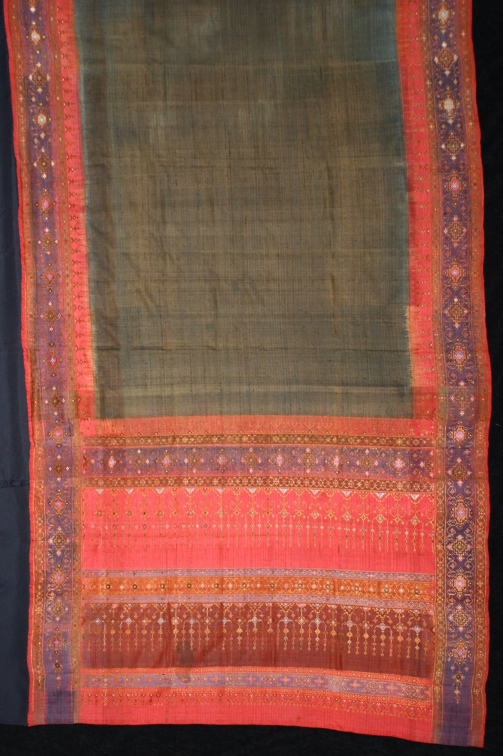 Silk hipwrapper, Nakhon Si Thammarat, Malay Peninsula, 19th century.