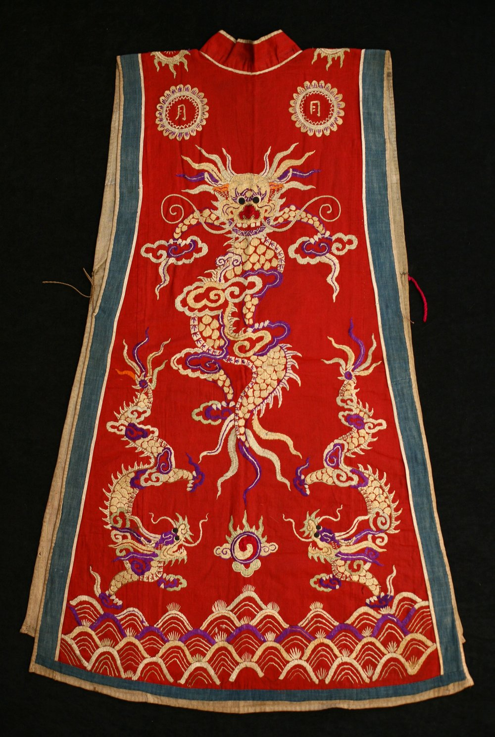 Dao Quan Chet priest's vestment, Vietnam, early to mid 20th century.