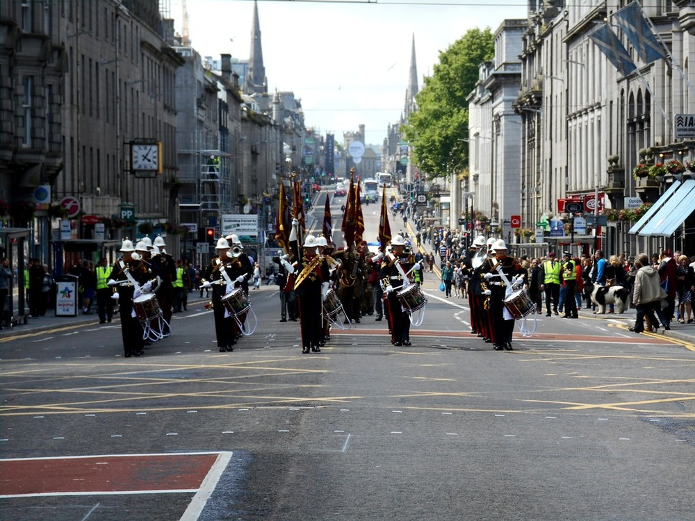 Airborne Forces Day Scotland in Aberdeen (Saturday 28th June 2015)