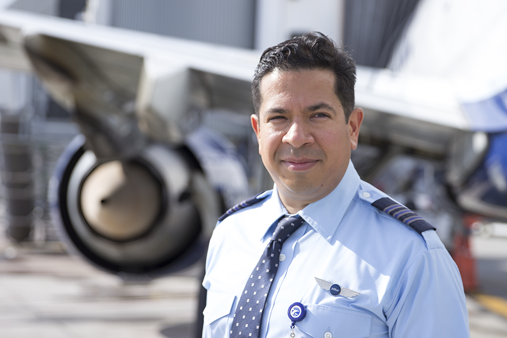 Meet Alex Arellano, a JFK-based First Officer since March 2, 2016 who recently completed the Transition Gateway.