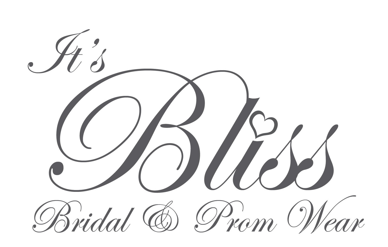 Its bliss wedding dresses