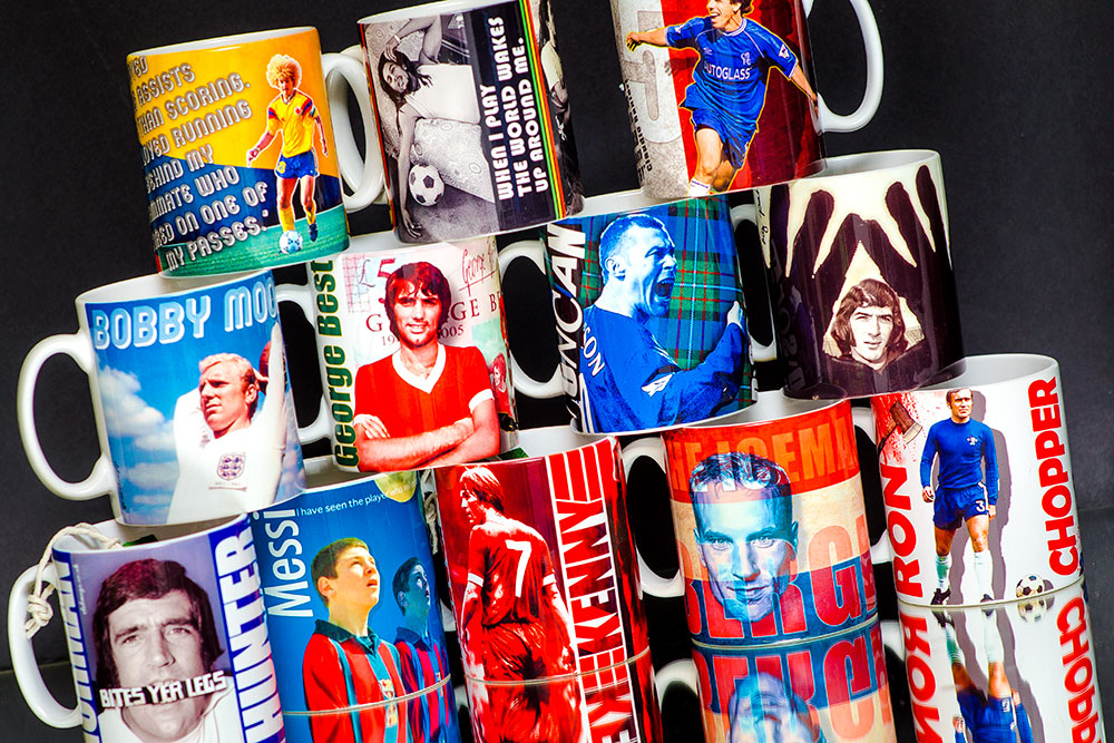 Buy Football Cult Hero Gift Mugs