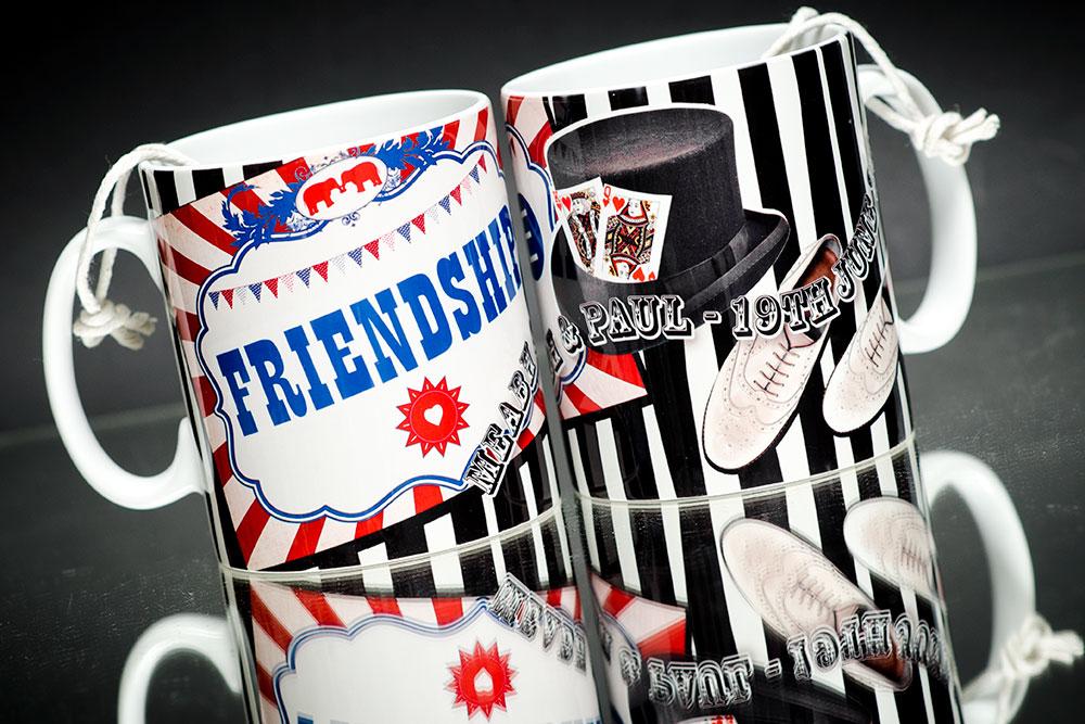 Personalised Short Run Mugs