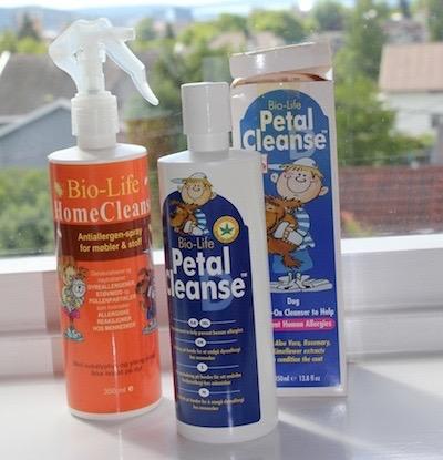 petal cleanse+kanin+allergi