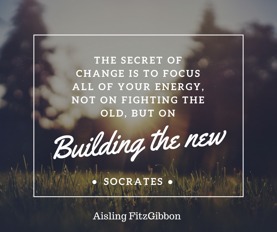 The secret of Change is to focus all of your energy, not on fighting the old, but on (1).png