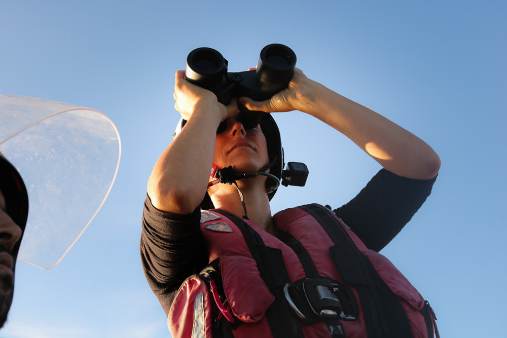 £ 250,00 - helps us spotting people in distress with binoculars, telescopes and night visioning equipment