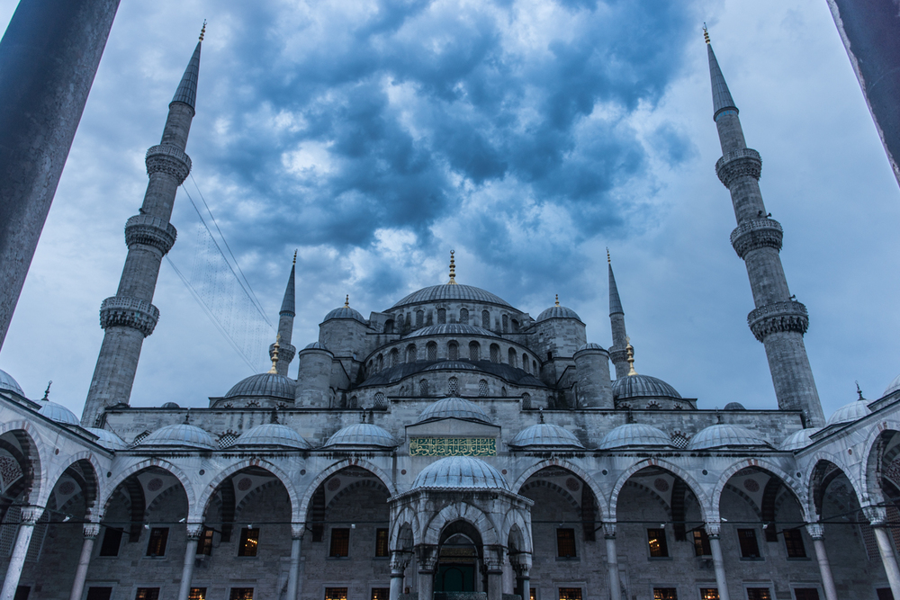 The Blue Mosque, more blue than ever