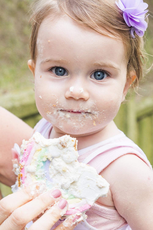 Smash the cake / baby photo session