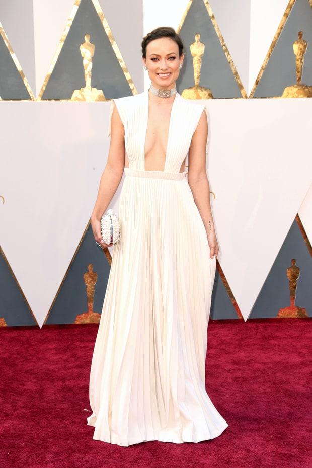 Olivia Wilde usa Valentino. Sei que muita gente vai discordar de mim, mas eu não achei o decote desse vestido NADA bonito e isso simplesmente estragou todo o resto que estava em perfeita harmonia.
