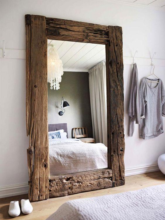 Eu SUPER queria um espelho assim, exatamente assim! <3
