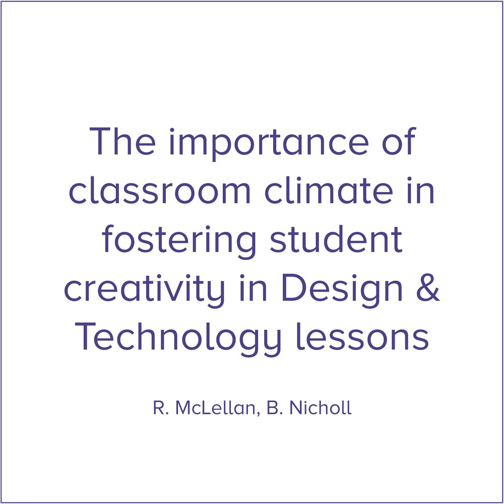 Link:  Classroom Climate