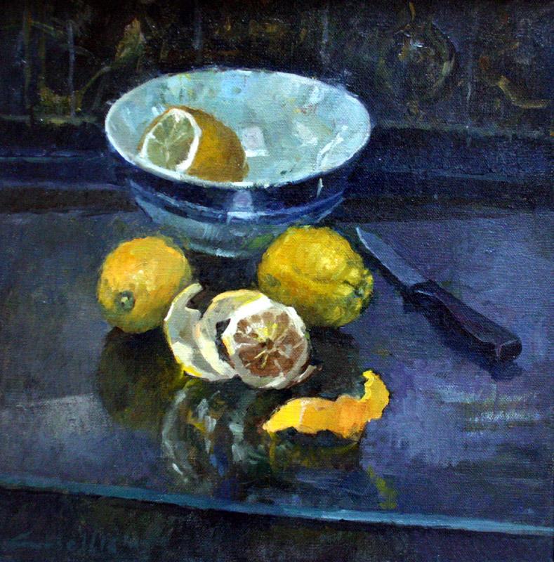 Freshly Cut Lemons
