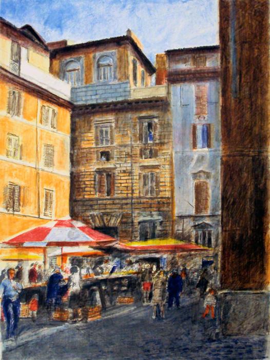 Market in Rome HC