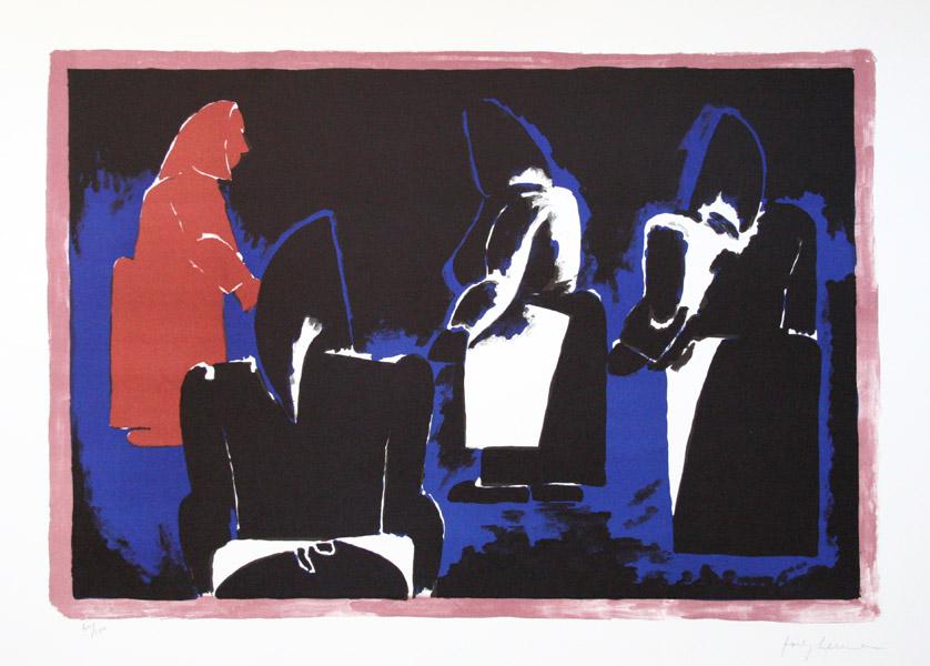 Four Fisherwomen