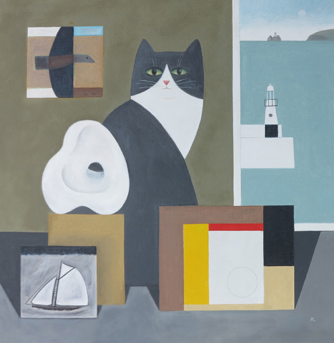 Gallery Cat, St Ives