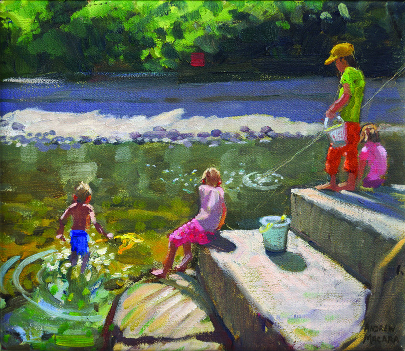 Kids Fishing, Looe