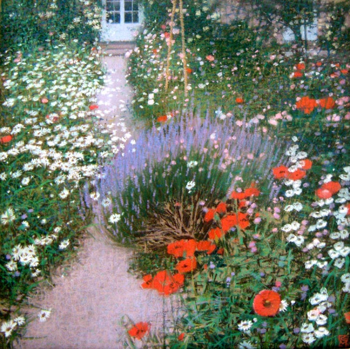 Charleston Farmhouse Garden, Sussex