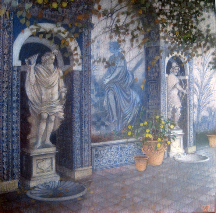 Neptune's Terrace, Frontiera Palace, Lisbon