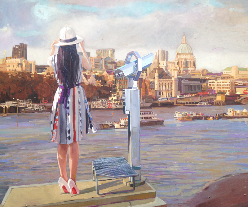 The Observer, The Thames