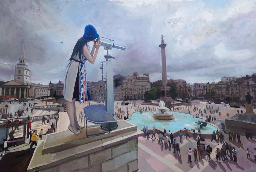 The Observer, Trafalgar Square