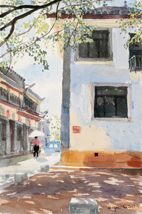 Corner in the Sun, Lijiang