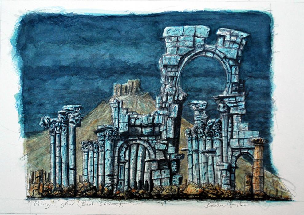 Palmyra Ghost (Baal Shamin)