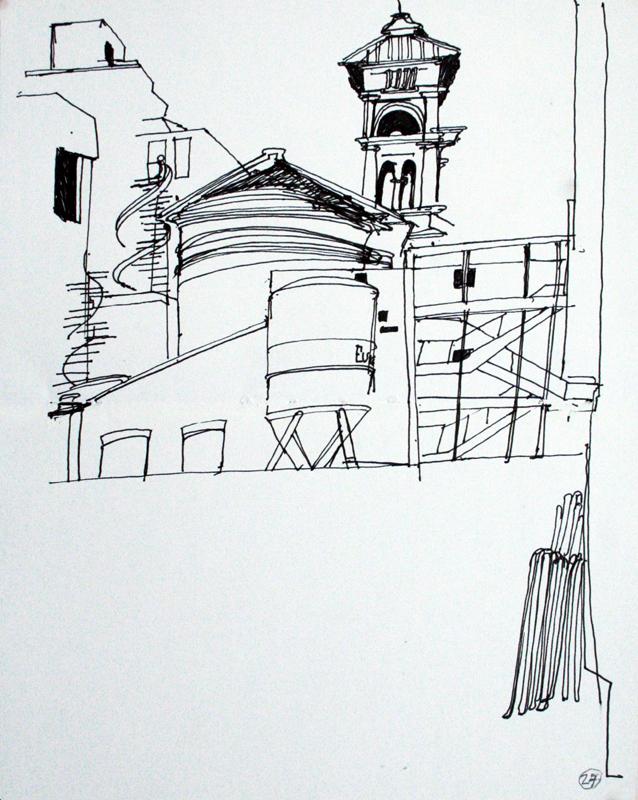 Crossrail Works, Soho