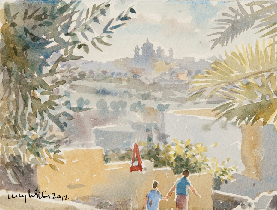 Distant Church, Gozo