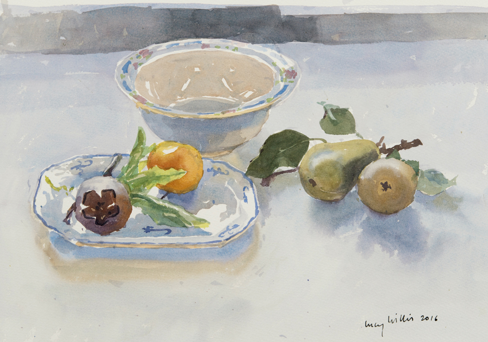 Medlar and Pears