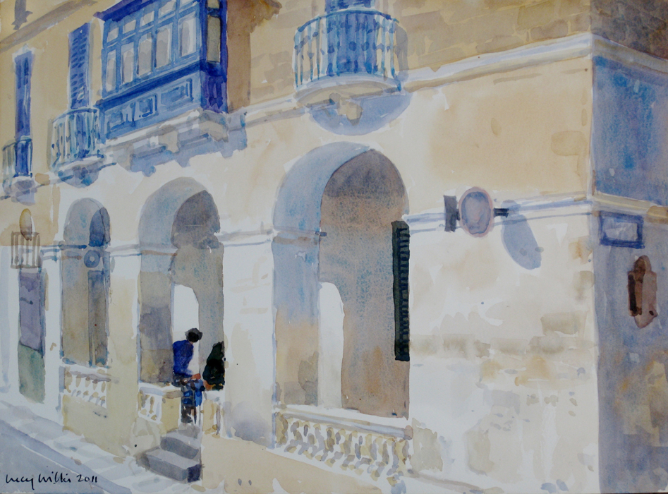 Conversation in Valletta