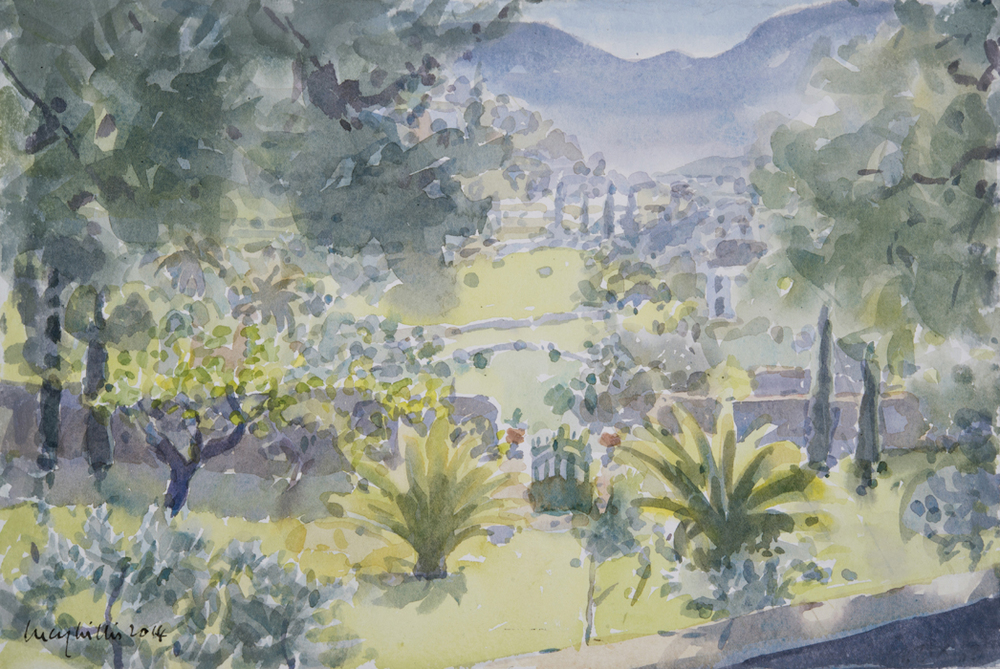 Gardens in the Valley, Syros