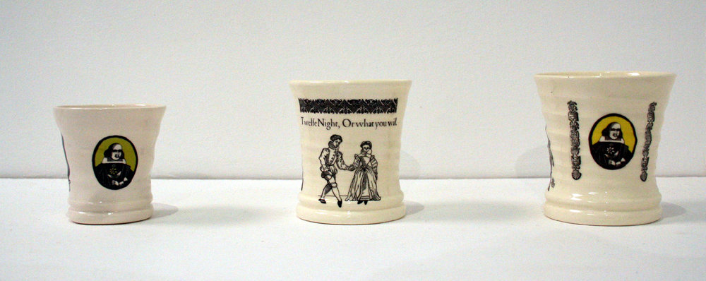 Twelfe Night Cups & Shakespeare Cup
