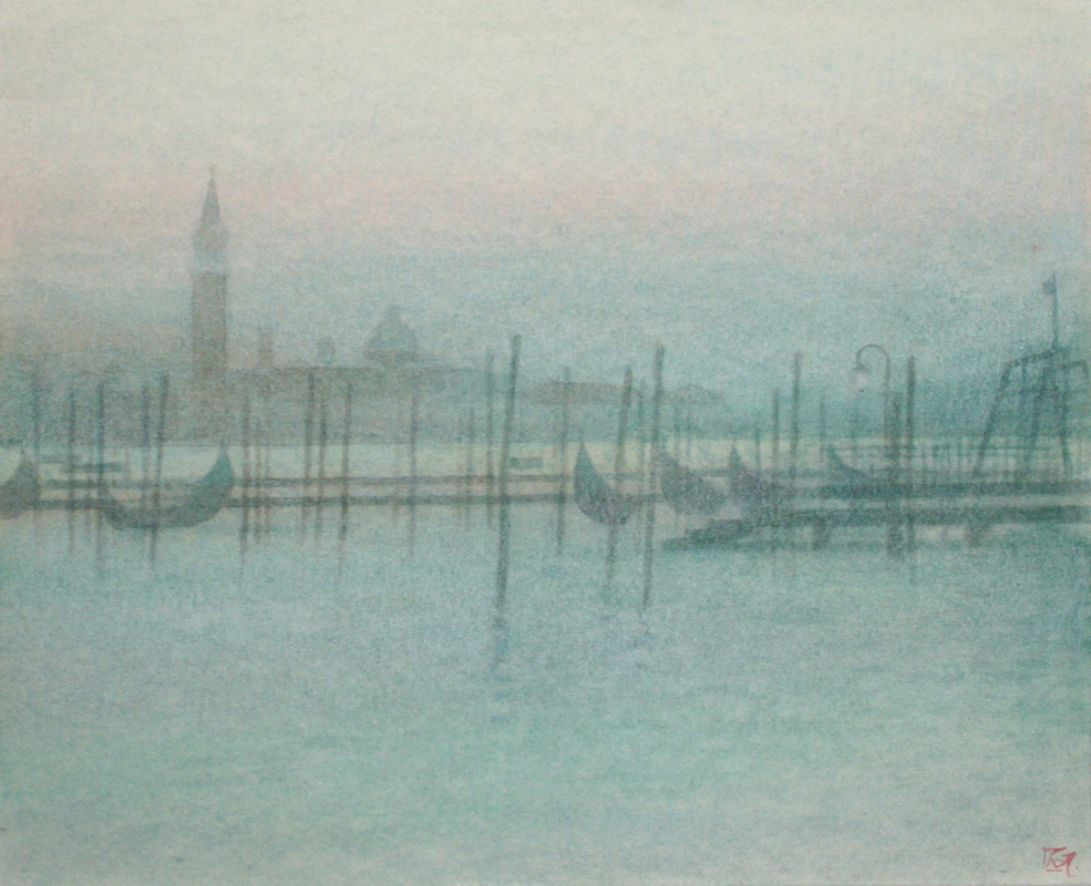 Early Evening towards the Lagoon, Venice